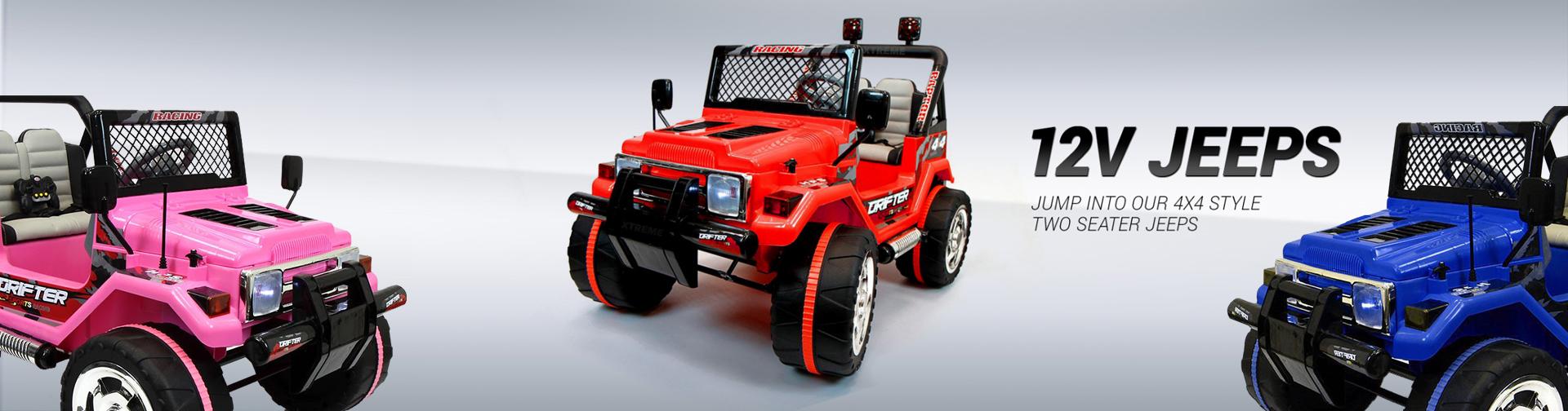12V Off-Road Jeep