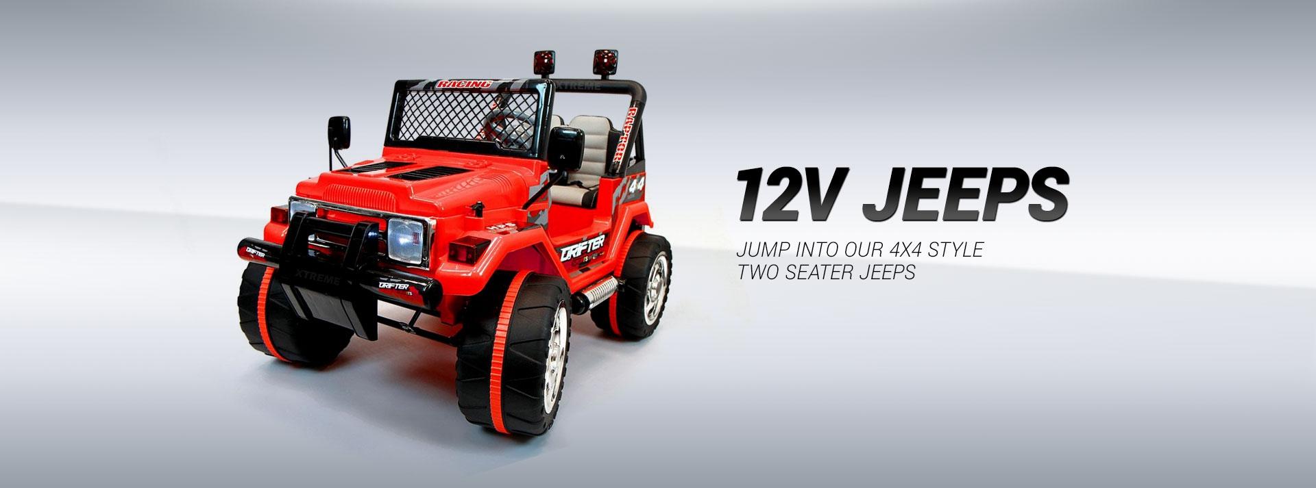 12V Jeeps