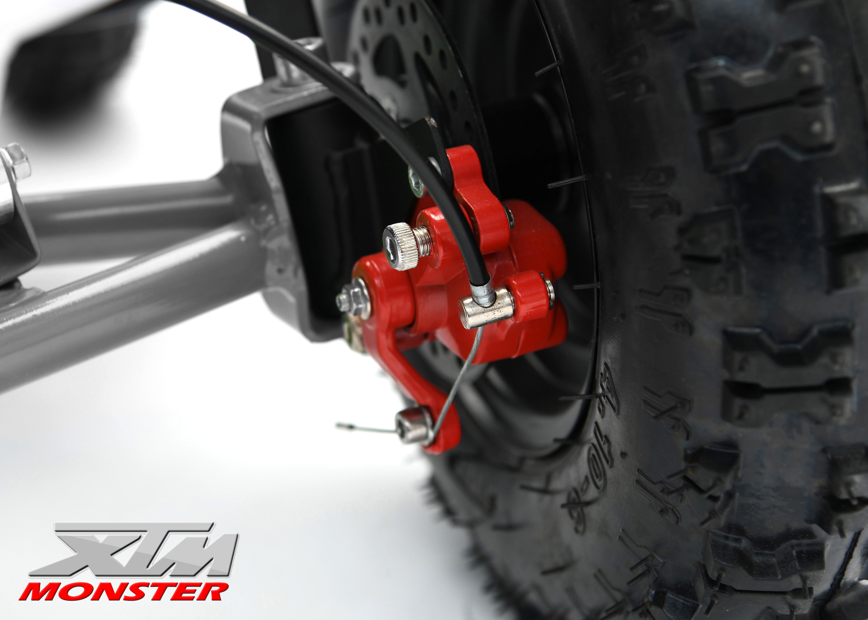 Upgraded Red Calipers