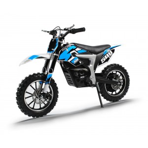 NEW XTM PRO-RIDER 36v 500w DIRT BIKE WITH LITHIUM BATTERIES IN BLUE