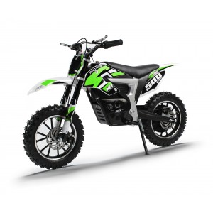 NEW XTM PRO-RIDER 36v 500w DIRT BIKE WITH LITHIUM BATTERIES IN GREEN