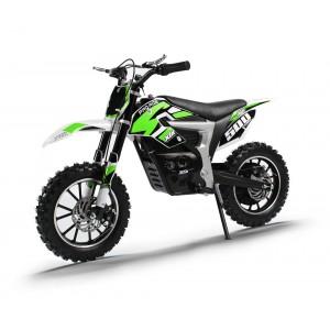 NEW XTM PRO-RIDER 24v 500w DIRT BIKE IN GREEN
