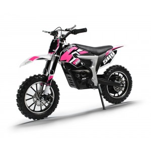 NEW XTM PRO-RIDER 36v 500w DIRT BIKE WITH LITHIUM BATTERIES IN PINK