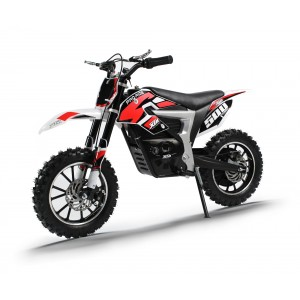NEW XTM PRO-RIDER 36v 500w DIRT BIKE WITH LITHIUM BATTERIES IN RED