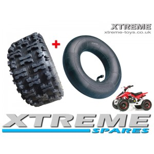 "MINI QUAD BIKE TYRE / MONSTER ATV / GO KART 13 X 5.00 - 6"" INCH TYRE + INNER TUBE"