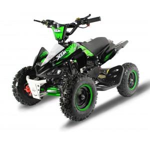 XTM MONSTER 50cc QUAD BIKE BLACK GREEN