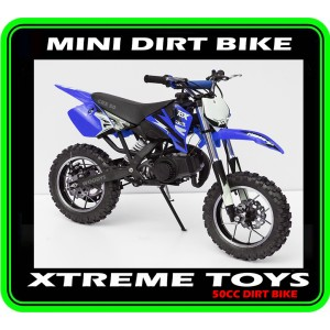 MINI DIRT BIKE CRX / MOTOR BIKE BLUE PLASTICS KIT