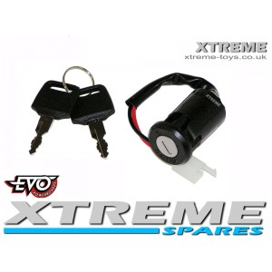 EVO SCOOTER IGNITION + KEY 36-48v 300w 500w 8000w 1000w GO PED/ DIRT BIKES/ QUAD