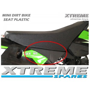 MINI DIRT BIKE/ MOTOR BIKE CRX REPLACEMENT PLASTIC SEAT SUPPORT