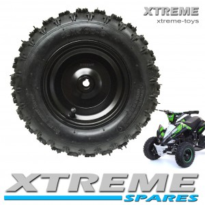 "MINI MOTO QUAD BIKE 5.00-6"" COMPLETE WHEEL WITH TYRE + INNER TUBE 49 - 50cc"