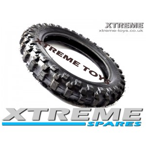 "MINI DIRT BIKE 10 INCH KNOBBLY TYRE CRX 50 / 2.50 - 10"" MOTOCROSS"