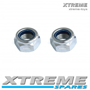 MINI QUAD 10mm THREAD FRONT WHEEL NUT SET