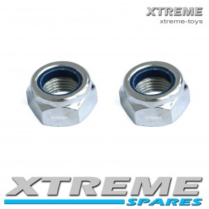 MINI QUAD 13mm THREAD REAR WHEEL NUT SET