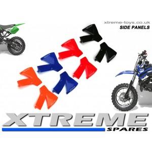 MINI DIRT BIKE CRX/ MOTOR BIKE PLASTICS KIT SIDE PANELS