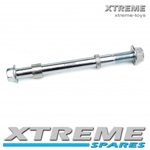 MINI DIRT BIKE 155MM REAR AXLE SPINDLE WITH SPACERS / XTM/ CRX