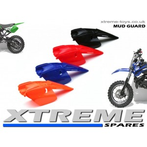 MINI DIRT BIKE CRX/ MOTOR BIKE PLASTICS KIT REAR MUDGUARD