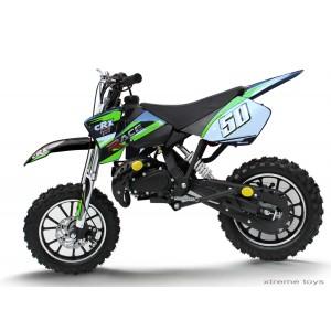 CRX RACE 50cc MINI DIRT BIKE IN GREEN
