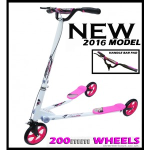 XTREME FLICKER 4 SCOOTER WHITE/ PINK