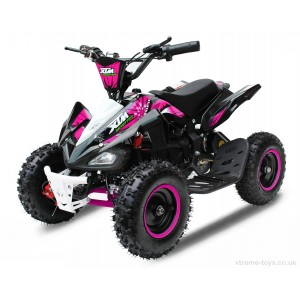 XTREME MONSTER 800w QUAD BIKE IN BLACK/ PINK