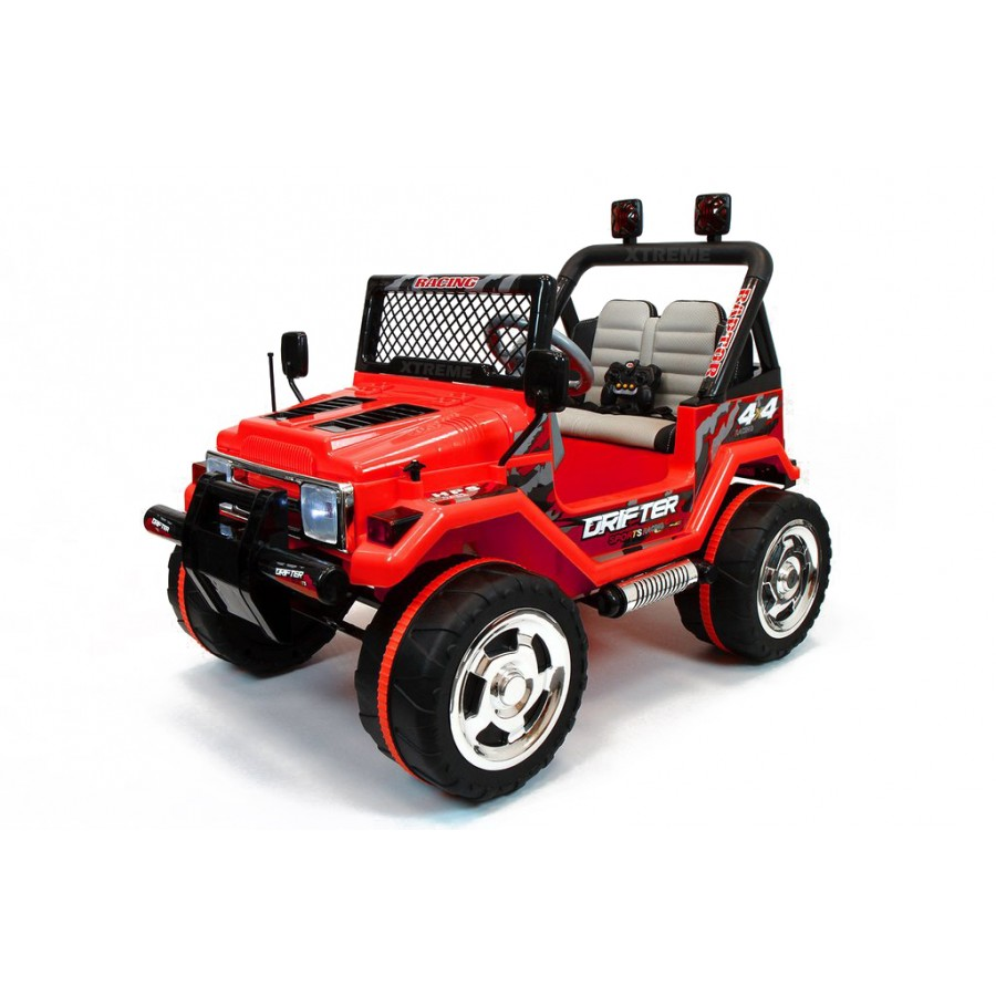 Xtreme 12v Ride On Off Road Jeep In Red Xtreme Toys