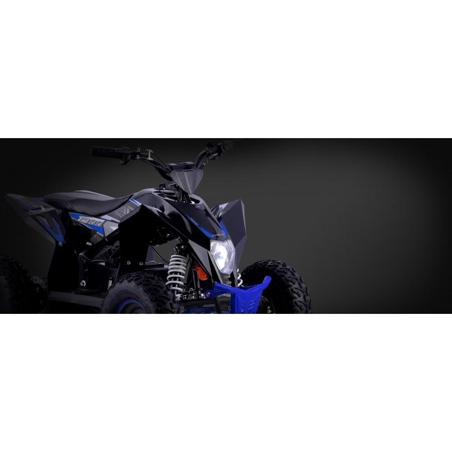 Xtm Racing 48v 1300w Lithium Quad Bike Black Blue Xtreme Toys