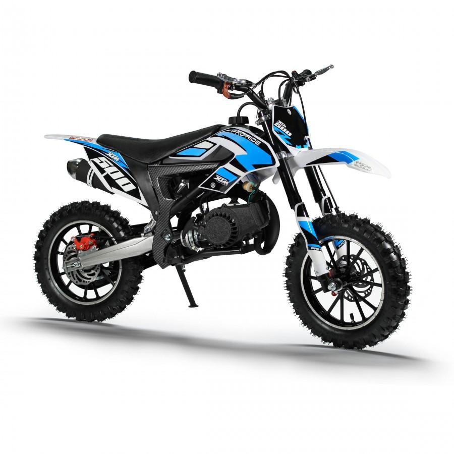 xtm pro rider 50cc dirt bike blue xtreme toys. Black Bedroom Furniture Sets. Home Design Ideas