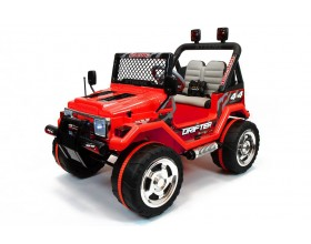 Xtreme 12v Ride on Off-Road 4X4 Two Seater Jeep in Red