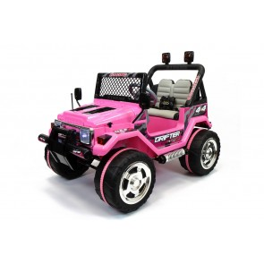 Xtreme 12v Ride on Off-Road 4X4 Two Seater Jeep in Pink