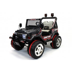 Xtreme 12v Ride on Off-Road 4X4 Two Seater Jeep in Black