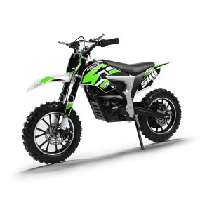NEW XTM PRO-RIDER 24v 500w DIRT BIKE IN GREEN