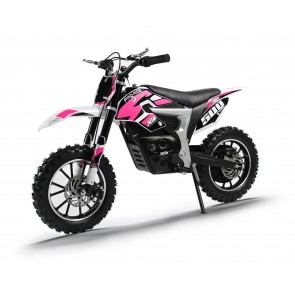 NEW XTM PRO-RIDER 24v 500w DIRT BIKE IN PINK