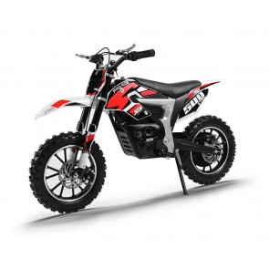 NEW XTM PRO-RIDER 24v 500w DIRT BIKE IN RED