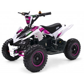XTM MONSTER 36v 800w QUAD BIKE WHITE PINK