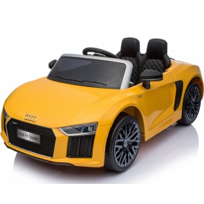 Xtreme 12v Official Licensed Audi R8 Spyder Ride on Car Yellow