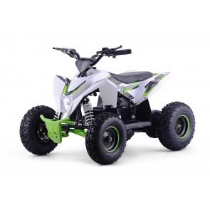 XTM RACING 1000w QUAD BIKE IN WHITE/ GREEN