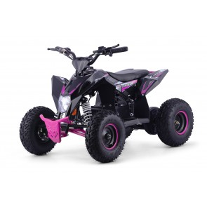 XTM RACING 1000w QUAD BIKE IN BLACK/ PINK