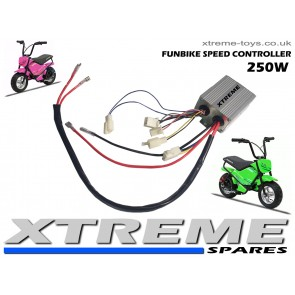 ELECTRIC FUNBIKE MINI BIKE SPEED CONTROLLER / 24v 250W