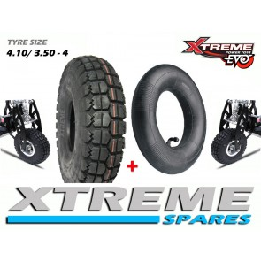 EVO SCOOTER TYRE 4.10/3.50-4 WITH INNER TUBE