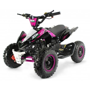XTM MONSTER 50cc QUAD BIKE BLACK PINK