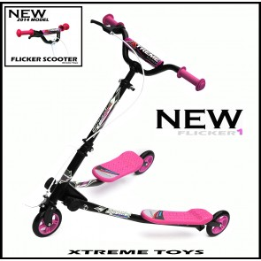 XTREME FLICKER 1 SCOOTER BLACK/ PINK