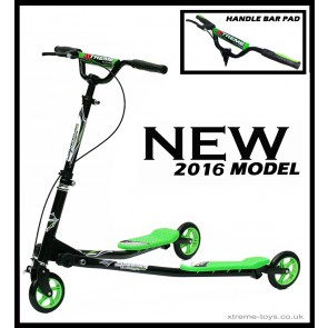 XTREME FLICKER 1 SCOOTER BLACK/ GREEN