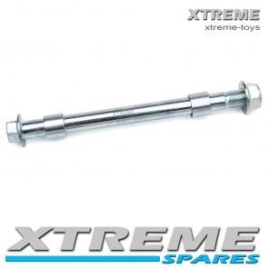 MINI SUPERCROSS DIRT BIKE 212MM FRONT AXLE SPINDLE WITH SPACERS