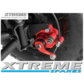 MINI MOTO  /  DIRT BIKE / QUAD RED REAR BRAKE CALIPER