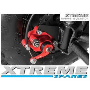 MINI MOTO / QUAD / DIRT BIKE RED FRONT BRAKE CALIPER