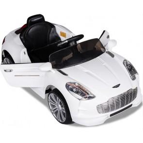 Xtreme 12v Aston Martin V8 Style Ride on Car in White