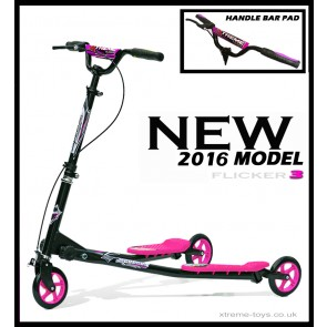 XTREME FLICKER 3 SCOOTER BLACK/ PINK