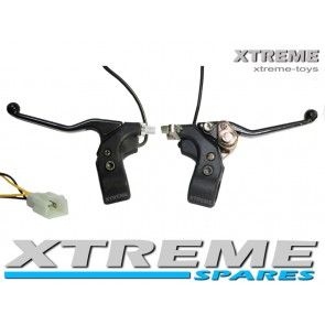 XTREME NITRO 1000W MINI QUAD BIKE FRONT AND REAR BRAKE LEVERS