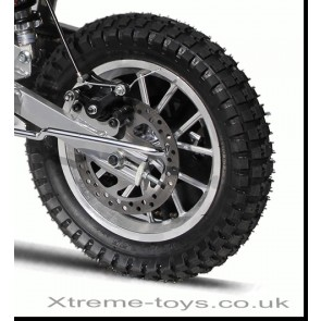 MINI DIRT BIKE / NITRO 350W MOTOR BIKE / MOTOCROSS COMPLETE REAR WHEEL