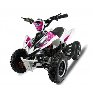 2017 LATEST MODEL XTREME MONSTER 800w QUAD BIKE IN WHITE/ PINK