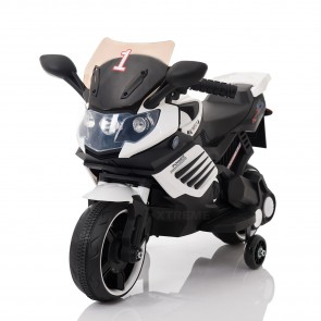 6V Xtreme Electric Motorbike Ride on Car in White